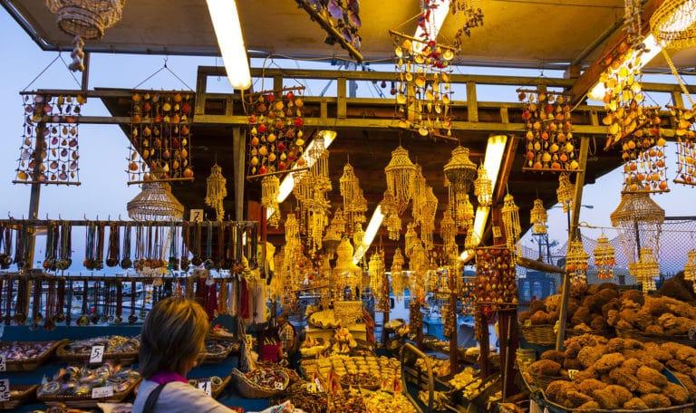 Markt Rhodos Stadt