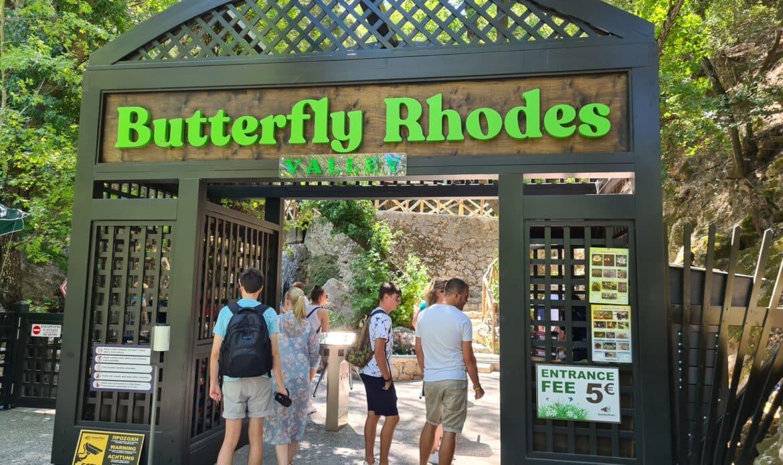 Eingang Tal der Schmetterlinge