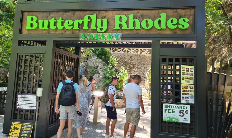 Butterfly Valley Rhodos